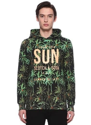 Scotch & Soda Sweatshirt Yeşil